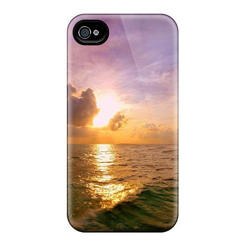Dana Lindsey Mendez Iphone 4/4s Well-designed Hard Case Cover Maldivian Sunset Protector