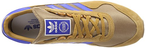adidas Herren New York Gymnastikschuhe Beige (Mesa/cardboard/gum 2)
