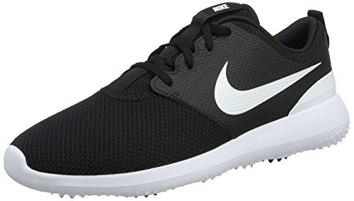 Nike Roshe G, Scarpe da Golf Uomo, Nero (Negro/Blanco 001), 43 EU
