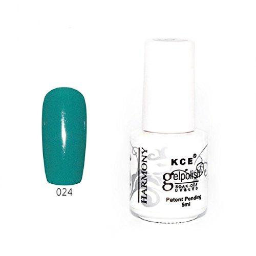 Vovotrade ❃❃ Nail Polish pur Gel UV Et Bright LED colorées Couleurs 5ML_C