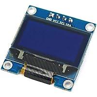 "0.96""Amarillo Azul/Azul/Blanco I2c IIC Serial Oled LCD LED Módulo 128X64 para Arduino Display Raspberry PI 51 Msp420 Stim32 SCR Kaemma"