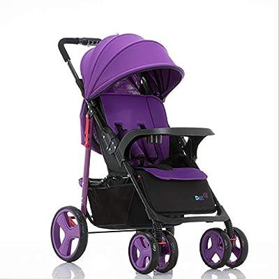 TYUE Carrito de bebé, Sistema de Viaje del bebé, Compacto y Ligero, Convertible Cochecito de bebé Buggy Multifuncional Cochecito de bebé