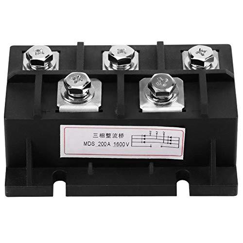 Brückengleichrichter, 200A Ampere 1600V MDS200A 3-Phasen-Gleichrichter-Leistungsmodul