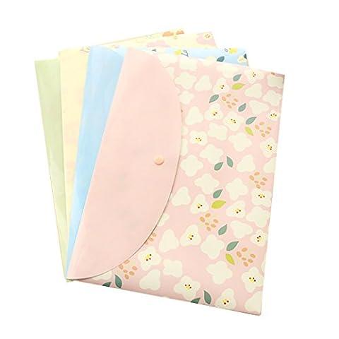 LA HAUTE File Bags A4 Document Holder Filing Paper Bags