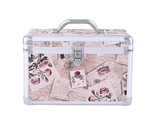 Professional cosmétiques sac de rangement valise à ongles boîte à outils,Flesh
