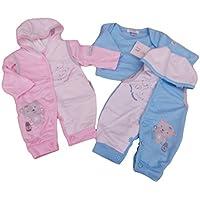 BNWT prematuro reborn Preemie bambino vestiti 2pezzi tutto in uno con cappuccio e (3 Pezzi Bambino Outfit)