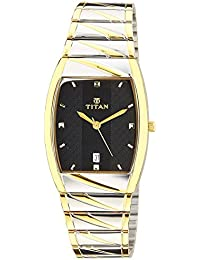 Titan Karishma Analog Black Dial Men's Watch - NE9315BM02A