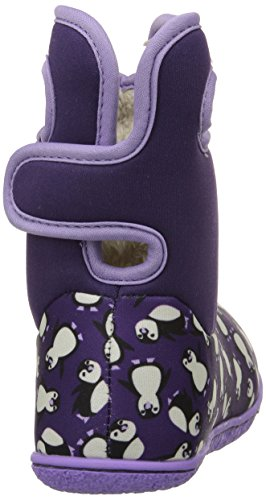 Bogs Baby Bogs Wellies Classic Penguins Grape Multi