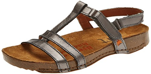 Art Damen 0946s Metali I Breathe Peeptoe Sandalen Grau (Antracita)