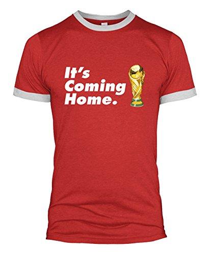 Mens It's Coming Home T-Shirt England World Cup 2018 Men Women Kids Tshirt