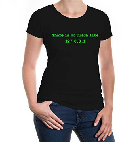 girlie-t-shirt-there-is-no-place-like-home-s-black-neongreen