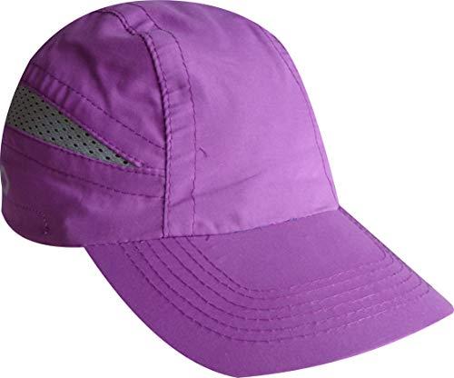 EKEKO Cappellino T Race Cappellino di Running, Spiaggia, Tutti Gli Sport. Colore Viola.