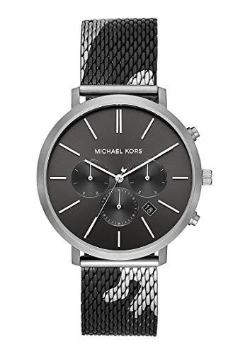 MICHAEL KORS Unisex Erwachsene Analog Quarz Uhr mit Edelstahl Armband MK8679
