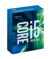 Intel Core i5 6600K (LGA1151 Socket, 3.50 Ghz Turbo Boost to 3.90 Ghz, 6MB Cache) - 6th Generation Skylake for Intel Z170 Chipset DDR4 Technology