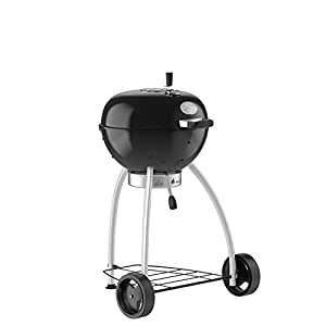 Rösle 25007 Number 1 Belly F50 Kettle Grill, Black, 20-Inch