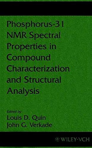 Phosphorus-31 NMR Spectral Props in Comp (Methods in Stereochemical Analysis)