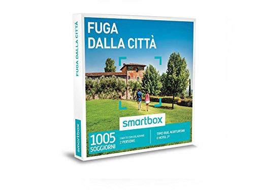 Smartbox cofanetto regalo - fuga dalla cittÀ - 1615 soggiorni in b&b, agriturismi, masserie o hotel 3*