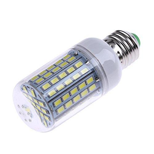 Matefielduk LED-Lampe, Mais-Glühbirne, 220 V-240 V, E27 LED SMD 5730 LED, sehr hell, Weiß [Energieeffizienzklasse Weiß, E27, 96 SMD, 5730 (96 Helle)