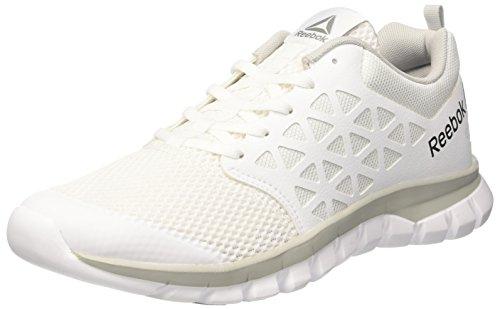 Reebok Herren Bd5535 Trail Runnins Sneakers, Elfenbein (Bianco White/skull Grey/pewter/black), 40.5 EU