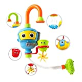 Ungfu Mall 1set Baby-Badewanne Dusche Spielzeug Kinder Badezimmer Wasserspielzeug Diver Spray Spielzeug-Wasserpumpen-Badewanne Spielzeug