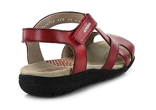 MEPHISTO EFFIA - Sandales / Nu-pieds - Femme red