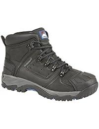Himalayan 410 - Zapatos de Seguridad de Piel Hombre, Color Negro, Talla 38