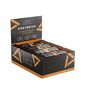 Amazon-Marke: Amfit Nutrition Protein-Riegel mit...