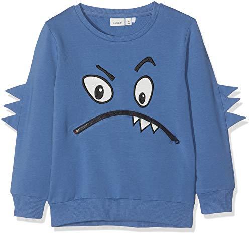 NAME IT Jungen Nmmkirkon Sweat Unb Box Sweatshirt, Blau (Dutch Blue), (Herstellergröße: 104) (Bekleidung Blue Dutch)