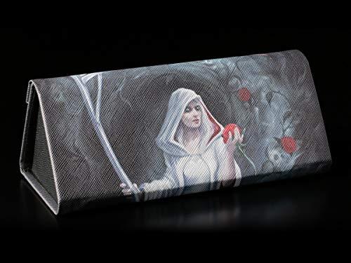 Gothic Brillenetui mit weiblichem Reaper - Life Blood   Tod, Hartschale, Hardcase, Motiv von Anne Stokes