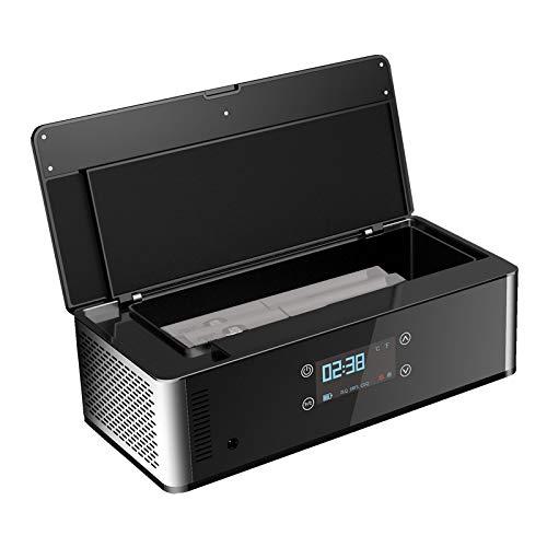 41jaoyH6CJL - CX Best Medicina Congelador Enfriadores de insulina Enfriamiento de medicamentos para diabéticos Mini refrigerador portátil Súper silencioso Alta Capacidad