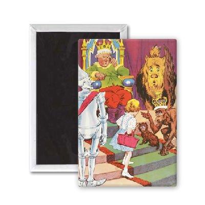 Oz Witch Zauberer Der Wicked Von (Der Zauberer von Oz–Dorothy Meeting das Lineal der Smaragd City–Kühlschrank)