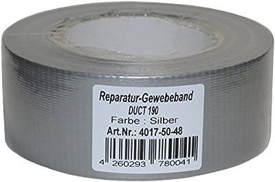 Premium Tape 50mm x 50m silber