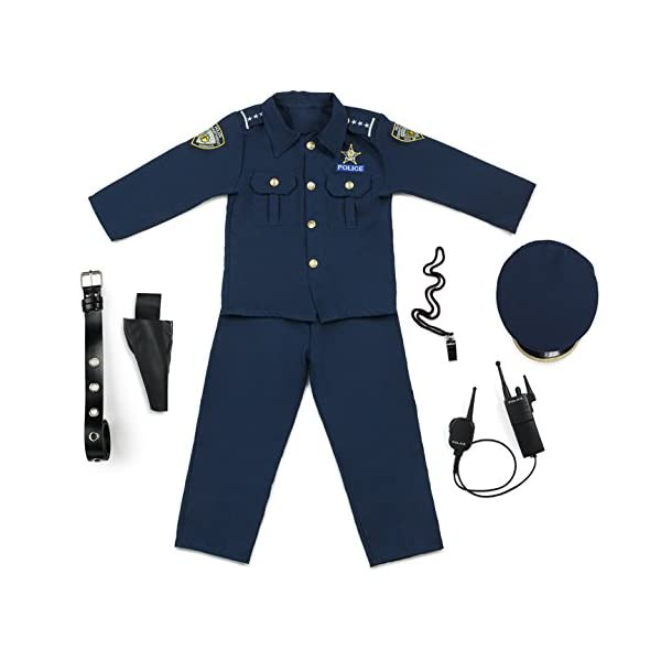 Dress Up America Deluxe costume da Poliziotto 2 spesavip