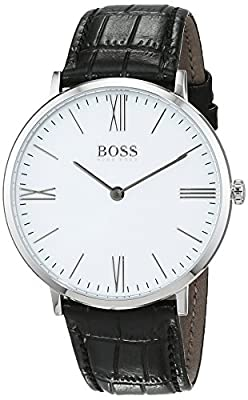 HUGO BOSS Men's Analogue Quartz Watch with Leather Strap - 1513370