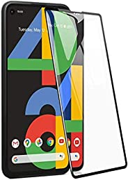 Pixel 4a 3D Curved Full Coverage Premium Scratch Resistance 5D Touch Tempered Glass Screen Protector For Googl