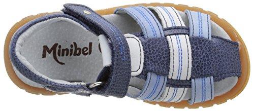 Minibel Echarloe16, Sandales Bout Fermé Garçon Bleu (10 Jean/Bleu)