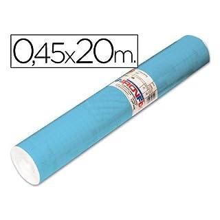Roll Adhesive aironfix Unicolor Blue Matte Clear 67013-rollo 20mt