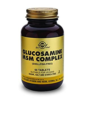 Solgar Glucosamine MSM Complex Tablets - Pack of 60 by Solgar
