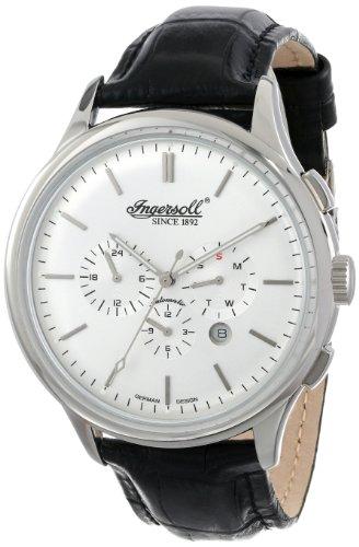 Ingersoll Men's IN2815SL Mackinac Analog Display Automatic Self Wind Black Watch