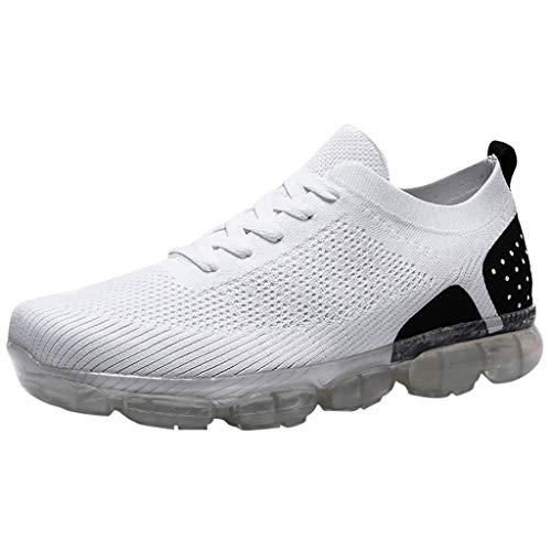 Precioul Damen Herren Laufschuhe Sportschuhe Turnschuhe Trainers Running Fitness Atmungsaktiv Sneakers Atmungsaktive Sportschuhe mit flachem Boden und rutschfesten
