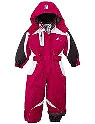 Peak Mountain FENIAX/NH de esquí para niña, niña, color rosa - rose - fuchsia, tamaño FR : 8 ans (Taille Fabricant : 8)