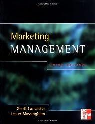 Marketing Management by Geoff Lancaster (2001-03-01)