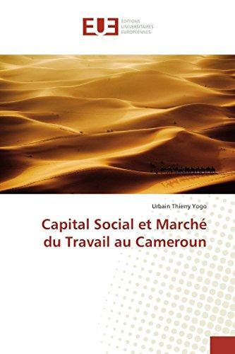 Capital Social et March du Travail au Cameroun