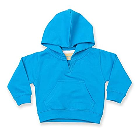 New Baby Infant Kids Larkwood Hoodie Sweatshirt Sapphire Size 18-24 Months