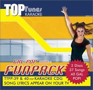 Top Tunes Karaoke CDG Gal Pop Vol.2 Fun Pack TTFP-39&40 (2014-08-02)