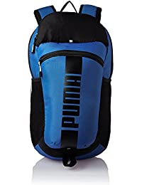 310c18e1cf Puma Polyester 15 Ltrs True Blue and Puma Black Laptop Bag (7440103)