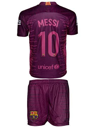 Barcelona Messi #10 2018/19 Dritte Trikot und Shorts Kinder und Jugend Größe