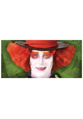 Adult Mad Hatter Eyebrows Standard