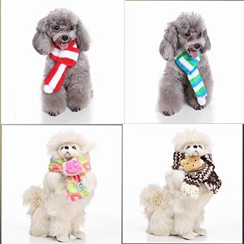 Werse Pet Weihnachts-Schal - Braunbär1 - -