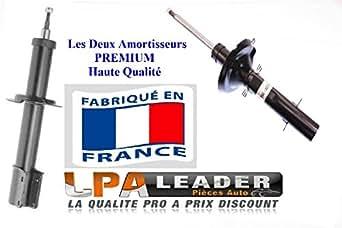 Deux Amortisseurs GAZ Arrières Fabrication Française Haute Qualité